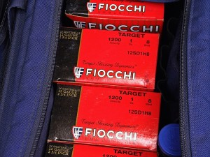 Rita prefers Fiocchi target loads although all of the major manufacturers make similar rounds. Look around to see what's most available in your area and experiment with different brands to learn what works best for you.