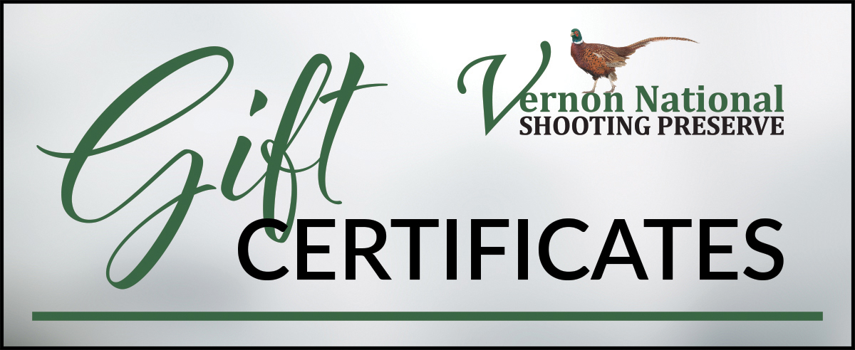 Vernon National Gift Certificates
